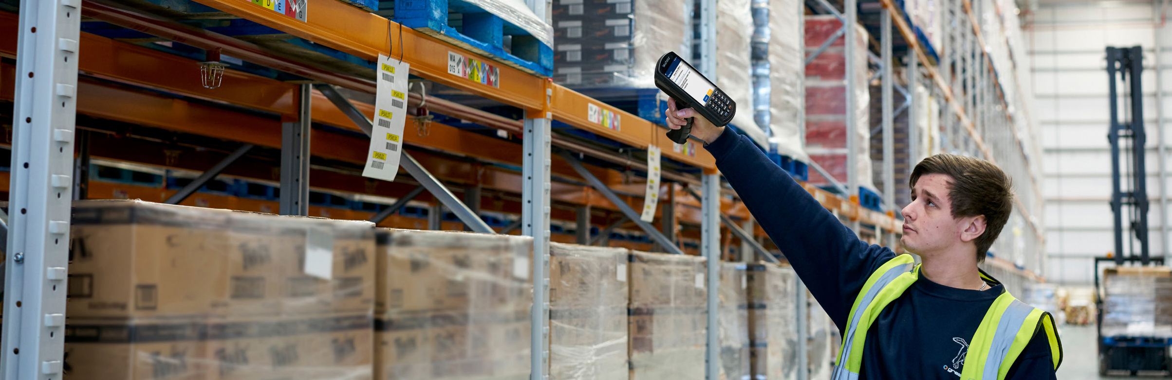 Rugged mobile devices in the warehouse