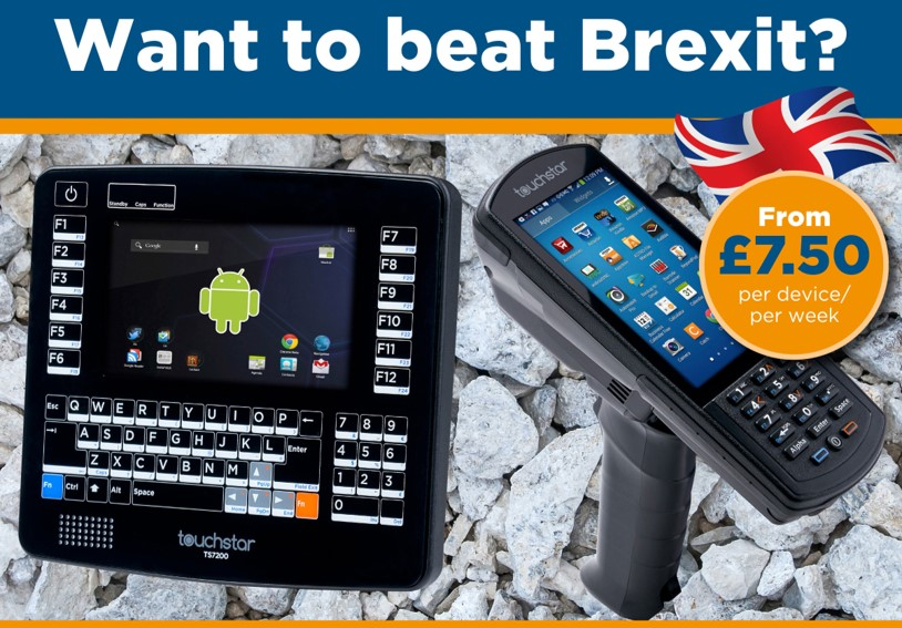 The latest Rugged Computers for £7.50/device/week!