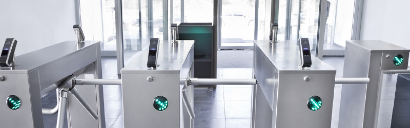 What is turnstile access control?