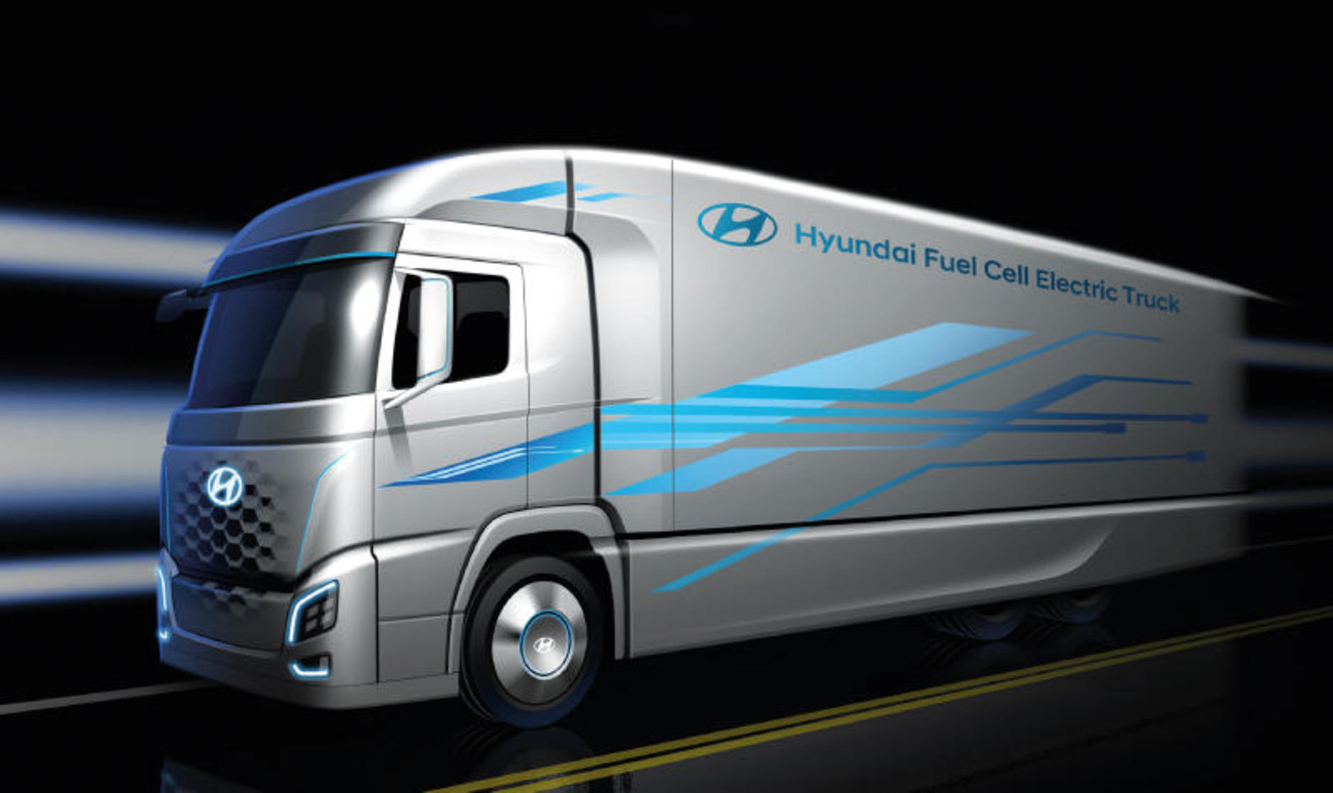 How does hydrogen fuel an HGV?